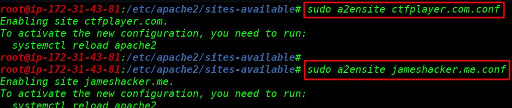 Multiple Websites host