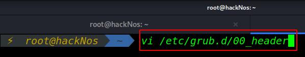 VI Editor modes