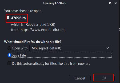 Add Exploit Metasploit