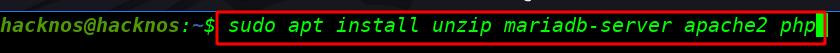 install apache server