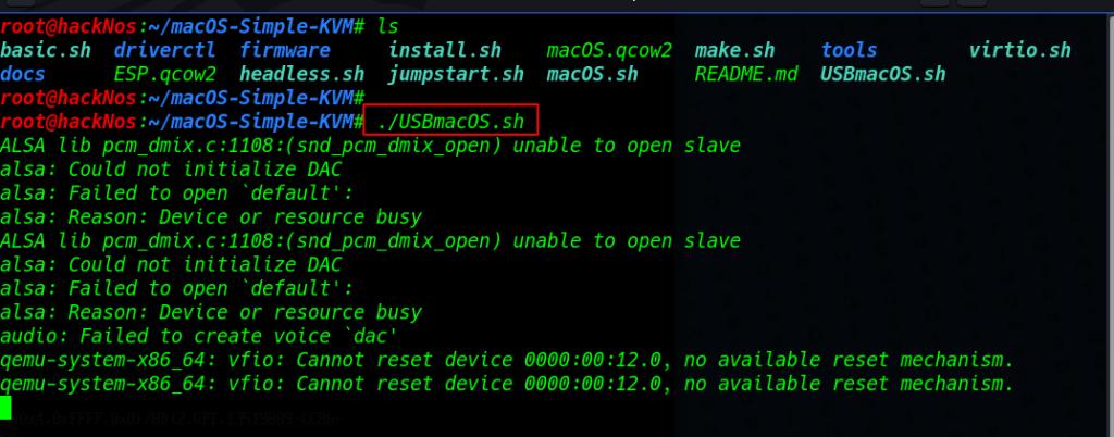 checkra1n install kali linux