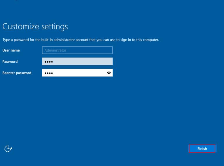 windows server 2016 install