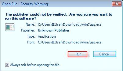 Windows 7 UAC Bypass
