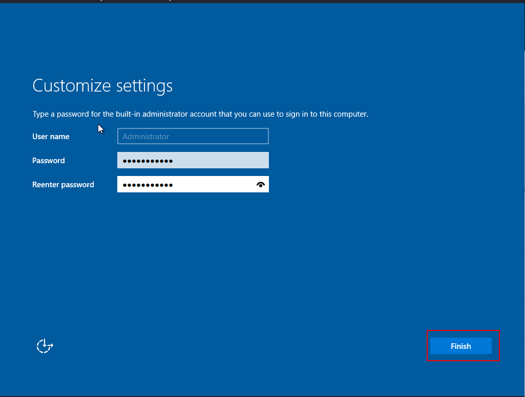 windows server 2019 installation