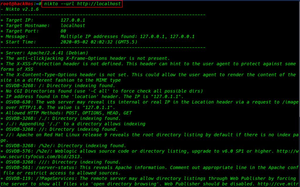 Enumeration Ethical Hacking | Enumaration with Nikto