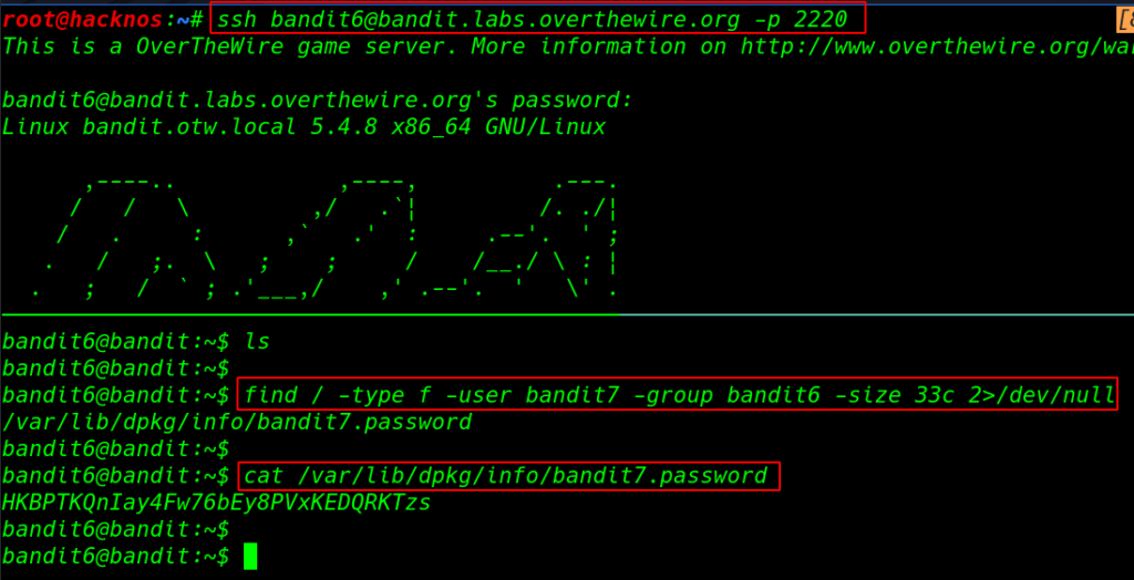 Overthewire Bandit 0 to 16 walkthrough | bandit overthewire | overthewire bandit solutions | overthewire passwords