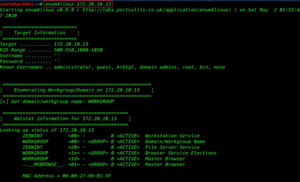 Nikto tool for mac free