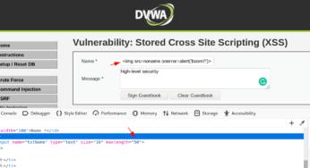 Cross Site Scripting xss attack