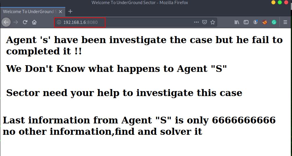 Investigator Vulnhub Walkthrough, Investigator: 1 Walkthrough