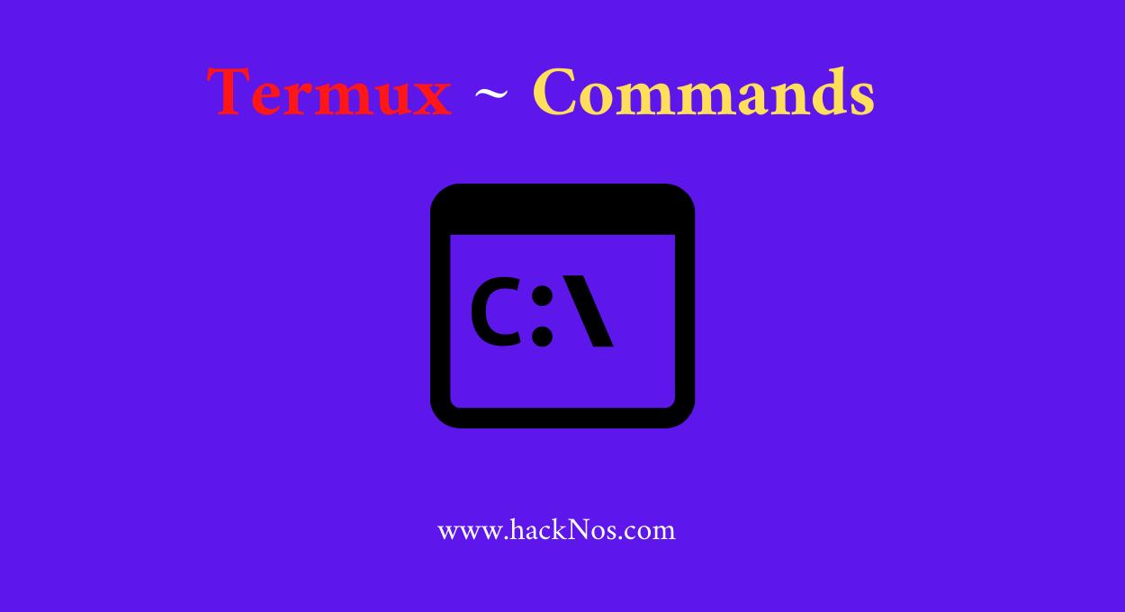 Termux commands lists