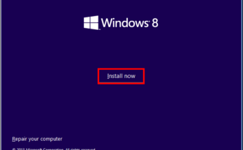Windows 8 Installation VirtualBox