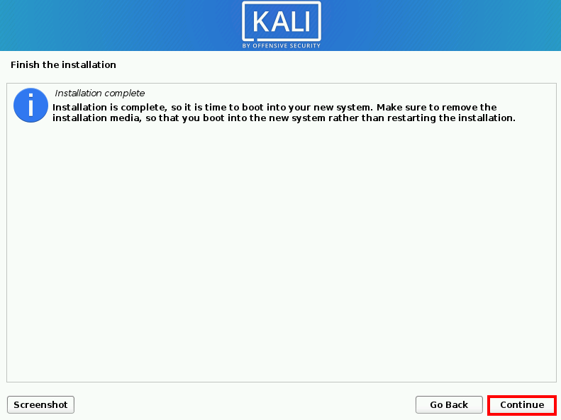 install Kali on Virtualbox