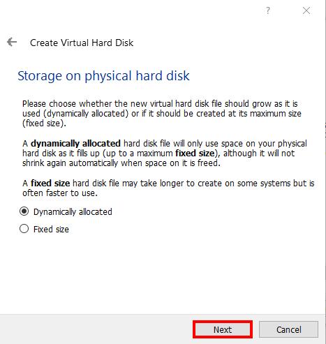 Kali Linux Install Virtualbox