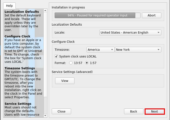 Antix Linux Installation