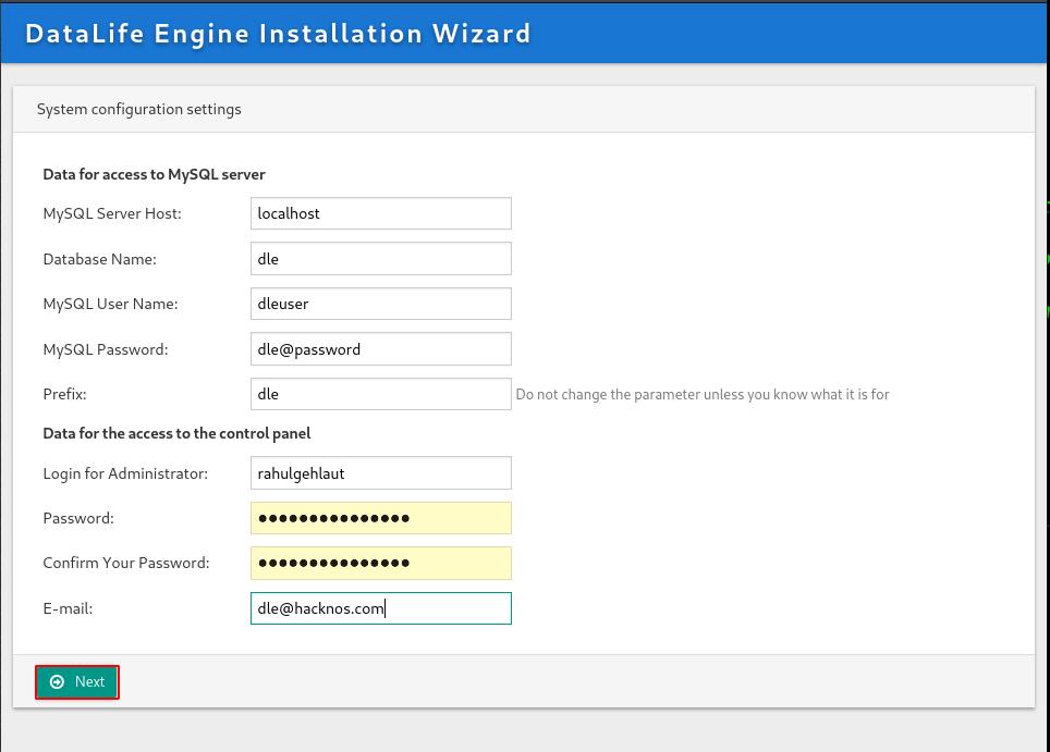 DataLife Engine demo