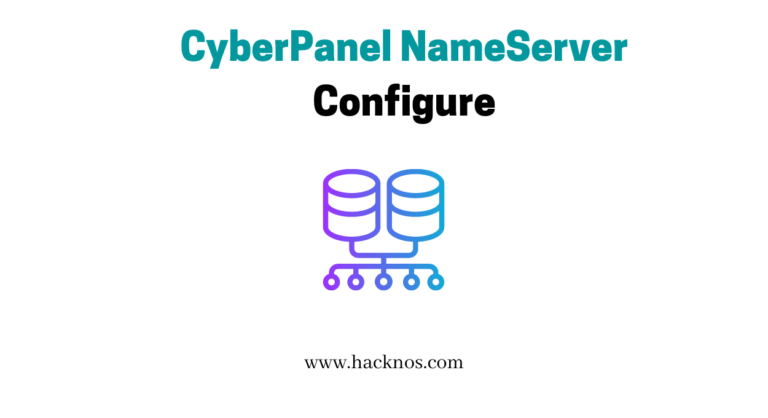 Configure DNS on Cyber Panel